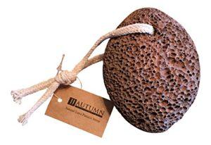 JJ Autumn – Natural Lava Pumice Stone – Callus Removal – Exfoliate to Remove Dead Skin Cells – Pedicure and Skin Care Tool