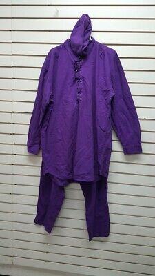 African Clothes/ Dashiki Unisex Sale/Men/Women C-PANTSET2-NC42 PURPLE
