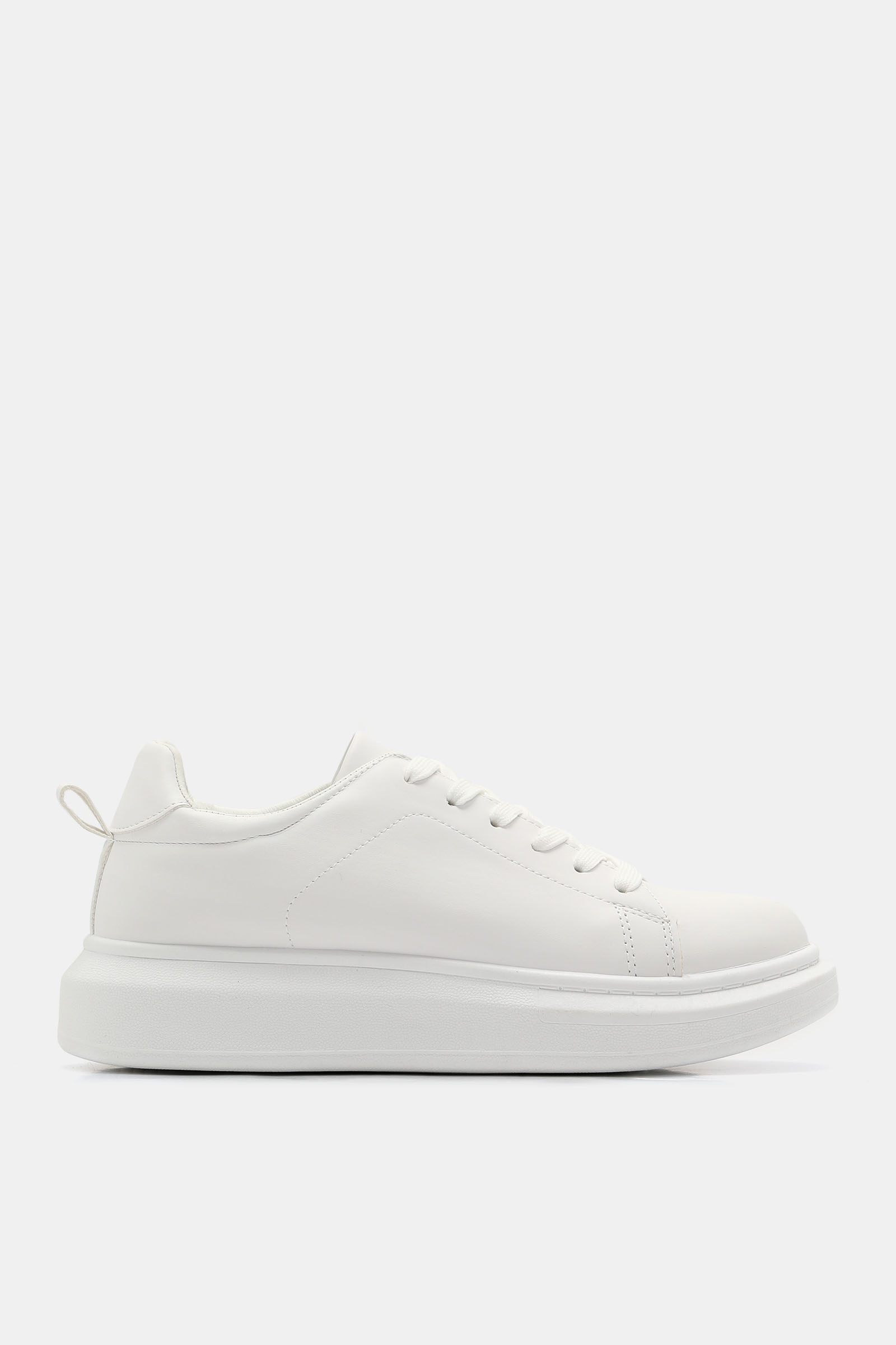 Ardene Faux Leather Chunky Sneakers