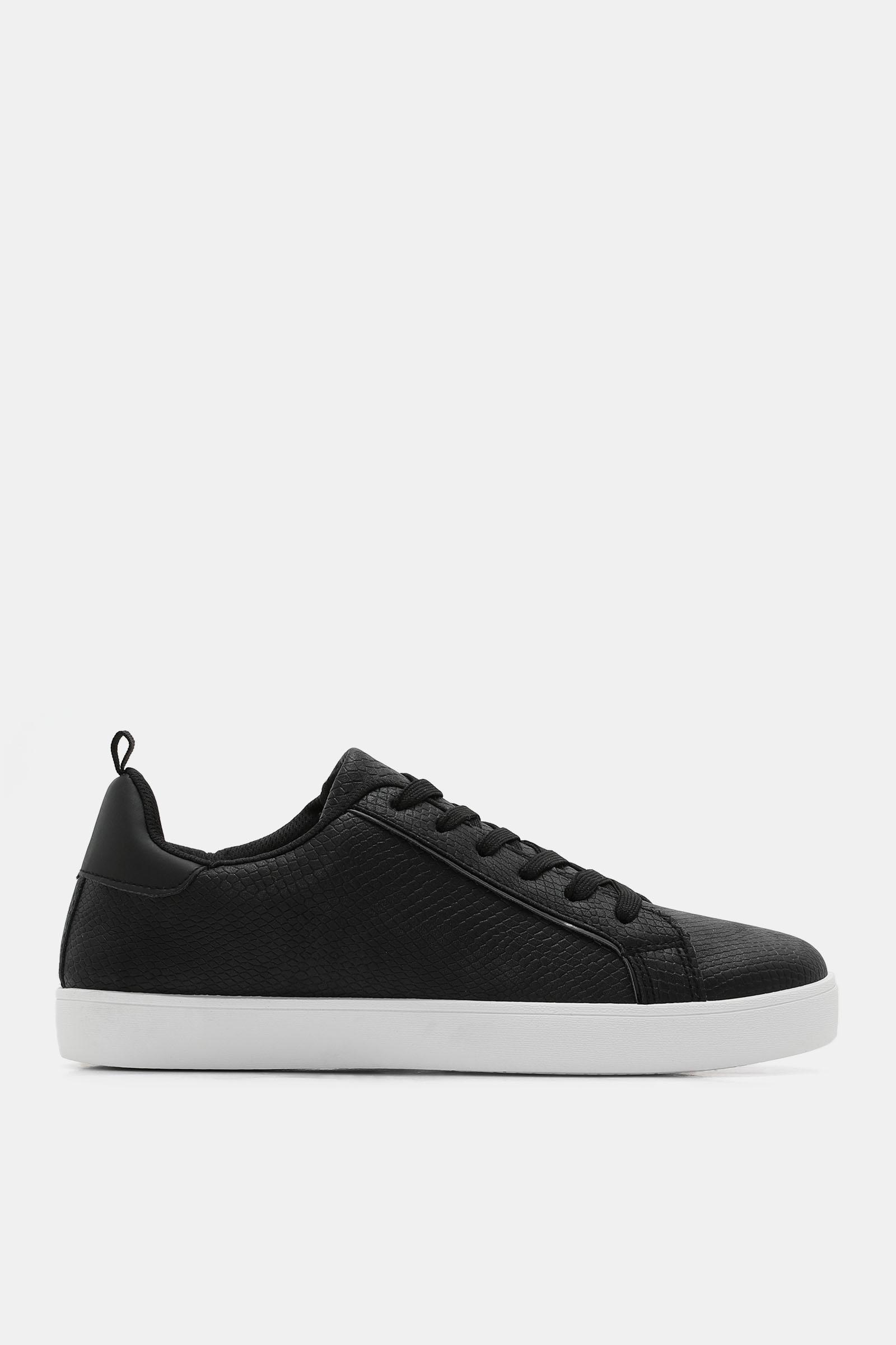 Ardene Snakeskin Faux Leather Sneakers