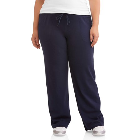 Athletic Works Women's Plus Size Dri More Relaxed Fit Sweatpants