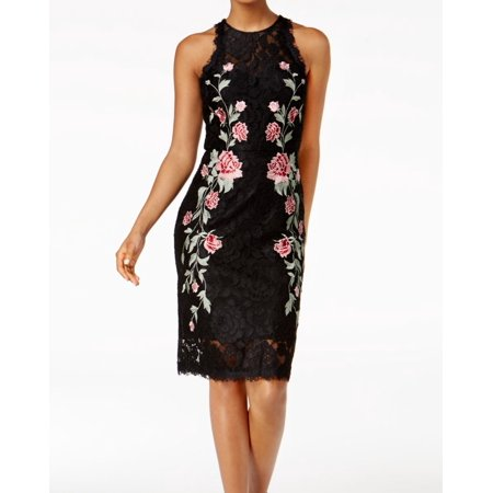 Betsy & Adam Women's Floral Lace Sheath Dress