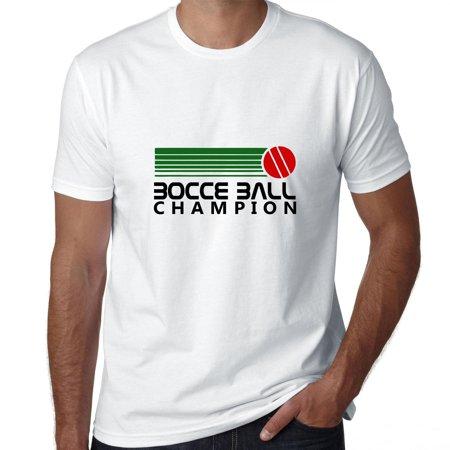 Bocce Ball Champion - 70s Vintage Graphic Men's T-Shirt