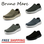 Bruno Marc Men's Slip On Sneakers Walking Loafers Sidewalk Canvas Casual Shoes