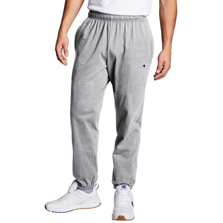 Champion Men's Closed Bottom Jersey Sweatpants, up to Size 4XL