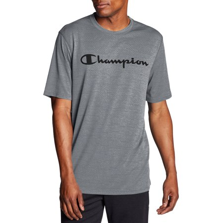 Champion Men's Double Dry Graphic Tee, up to Size 2XL