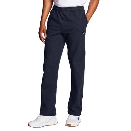 Champion Men's Powerblend Fleece Open Bottom Pants, up to Size 4XL