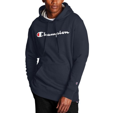 Champion Men's Powerblend Graphic Fleece Pullover Hoodie, up to Size 2XL
