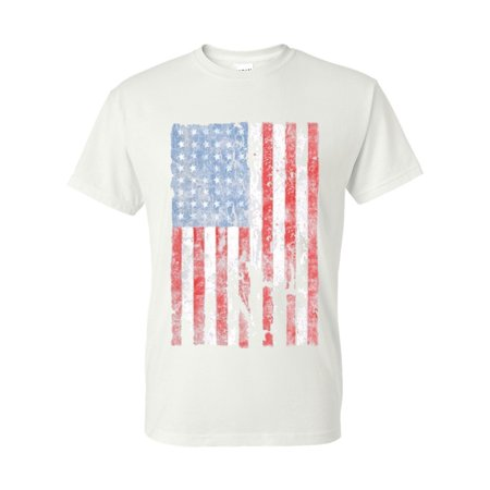 Distressed American Flag Clothing Mens Womens Mens Top