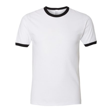 Fine Jersey Ringer Tee- A