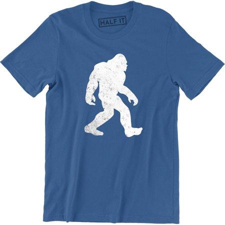 Hide and Seek Champion Funny Mens Soft Bigfoot Sasquatch Retro T-Shirt