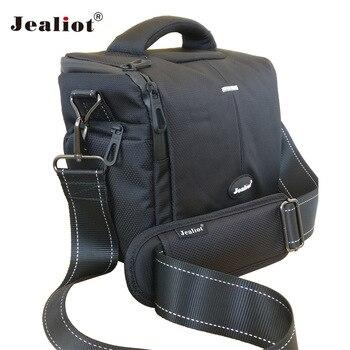Jealiot Professional SLR Camera Bag Shoulder Bag waterproof digital Camera video foto photo lens Case for DSLR Canon 700D 6D 5D