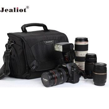 Jealiot Professional slr Camera Bag Shoulder Lens Bag Photo Dslr Digital Camera Shockproof Video Lens Case For Canon 5d Nikon