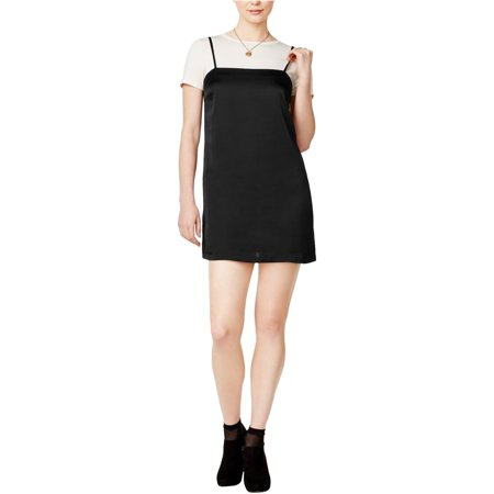 Kensie Womens Layered Look A-Line Dress