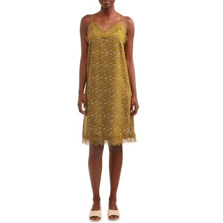 Love Sadie Women's Printed Slip Dress
