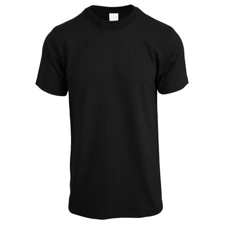 Ma Croix Mens Crew Neck T Shirt Solid Short Sleeve Tee S-5XL Big and Tall