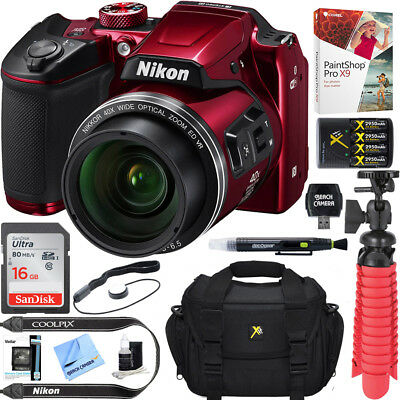 Nikon COOLPIX B500 16MP 40x Optical Zoom Digital Camera 16GB Value Bundle