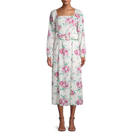 Prospect the Label Women's Belted Midi Dress