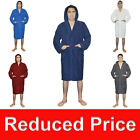 SALE! Men Hooded Bathrobe Terry Cloth Men Shawl Bathrobe Men's Hooded Bath Robe