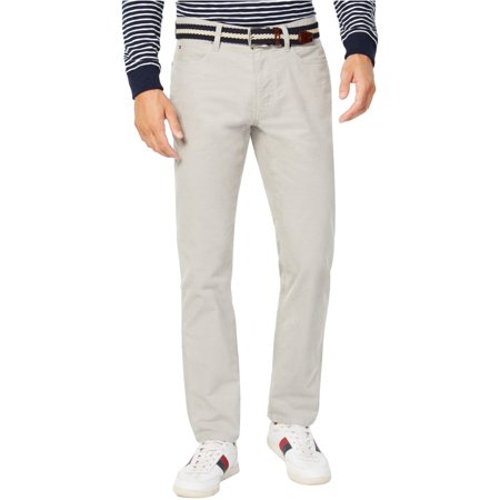Tommy Hilfiger Mens Custom Fit Casual Corduroy Pants