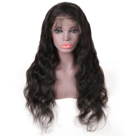 Unice Hair Human Hair Wig Series Body Wave Brazilian Remy Hair Long Wigs 13*3 Lace Front Human Hair Wigs Free Part, 8""