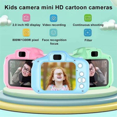 VicTsing Children Mini Cute Video Camera 2.0 Inch Take Picture Camera 1080P HD Boys Girls Best Birthday Gifts Kids Digital Camera,8 million Pixels