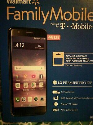 5.3 SCREEN LG PREMIER PRO LTE Walmart Family 4G LTE Prepaid Smartphone