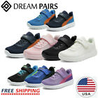 DREAM PAIRS Kids Sneakers Boys Girls Mesh Strap Sporty Tennis Shoes Youth Size