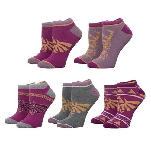 Legend of Zelda Twilight Princess Ankle Sock 5-Pack