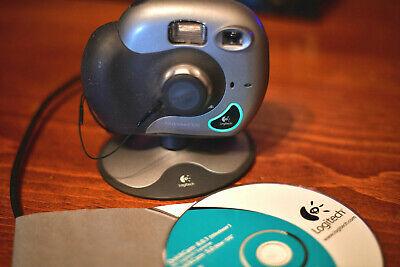Logitech ClickSmart 510 Webcam Digital Camera - complete as is