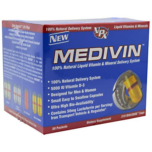 Medivin Multivitamins 30 pkts by VPX Sports Nutrition