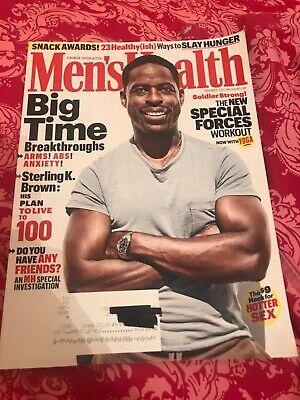 MEN'S HEALTH MAGAZINE November 2019 STERLING K.BROWN PLAN Special Forces Workout
