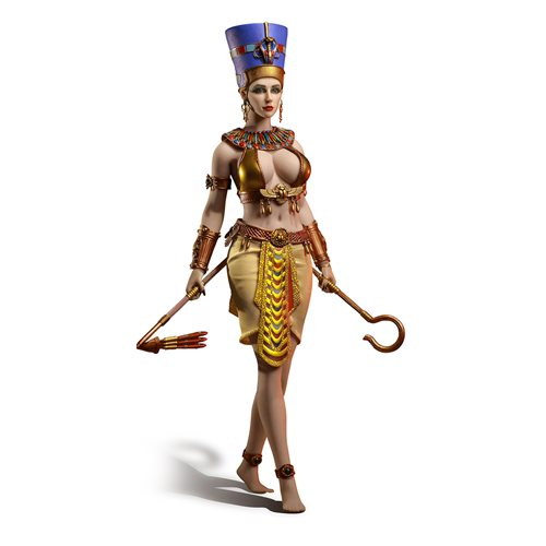 Nefertiti 1:6 Scale Action Figure
