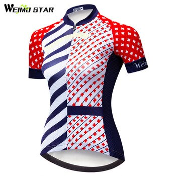 Weimostar Pro Team Cycling Jersey Women Bike Shirt Summer mtb Bicycle Jersey Downhill Breathable Cycling Clothing Ropa Ciclismo
