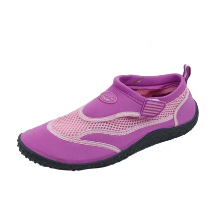 Brand New Women's Slip-On Water Shoes With Adjustable Strap Size 10 Purple