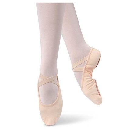 Danshuz Adult Pink Stretch Canvas Upper Split Sole Ballet Shoes 5-11 Womens