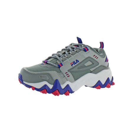 Fila Womens Oakmont TR Colorblock Leather Trail Running Shoes