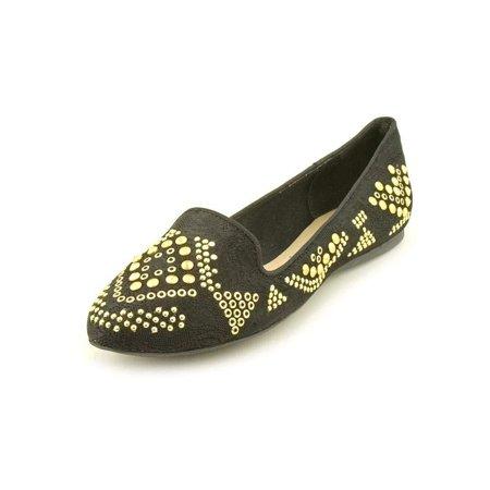 INC International Concepts Galai Womens Size 6.5 Black Fabric Flats Shoes