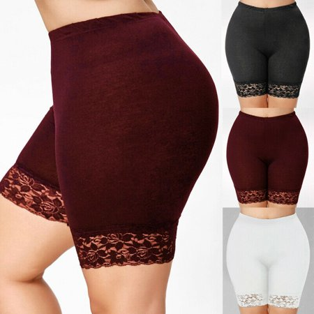 Multitrust Women Stretch Casual Shorts Exercise Yoga Workout Safety Pant Seamless Plus Size