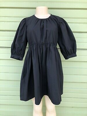 NWT ZARA WOMAN SALE! Short dress with a PUFFY SLEEVES SIZE L 8494/149 #1488L