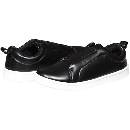 Sara Z Womens Fashion Casual Slip-On Loafers Classic Sneakers Size 7/8 Black