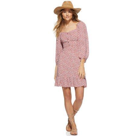 Scoop Women's Square Neck Mini Dress