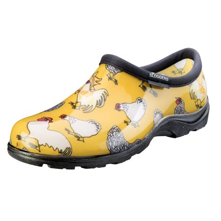 Sloggers Women's Waterproof Chicken Print Comfort Shoes