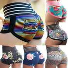Women High Waist Yoga Shorts Butt Lift Ruched Pants Booty Leggings Fitness Gym O