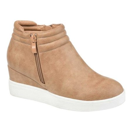Women's Journee Collection Remmy Wedge Sneaker