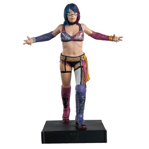 WWE Championship Collection Asuka Statue with Magazine