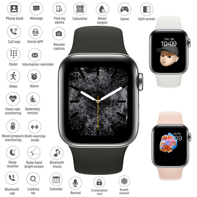 Bluetooth Smart Watch Phone Mate For iphone IOS Android Samsung LG Fitness Track