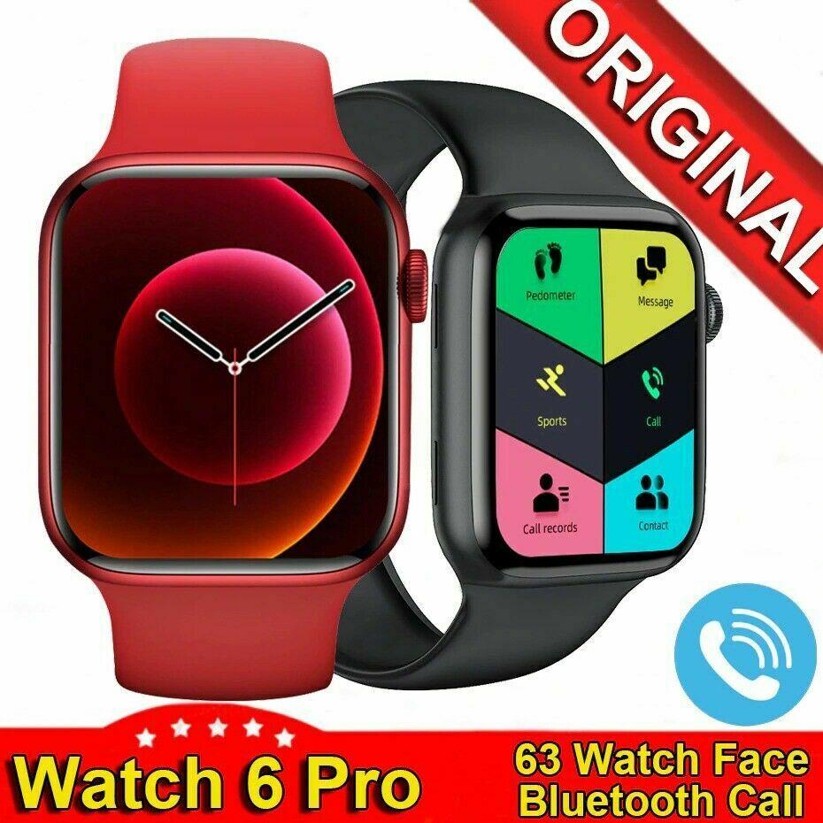 """2021 IWO Lite Smart Watch Ak76 1.75"""" HD Bluetooth Call Heart Rate Monitor"""