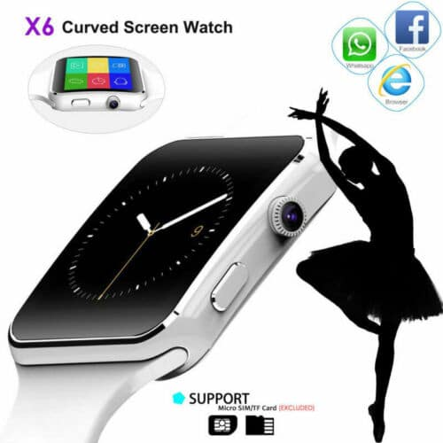 Smart Watch iPhone Android IOS | Bluetooth Waterproof Watches for Women Men