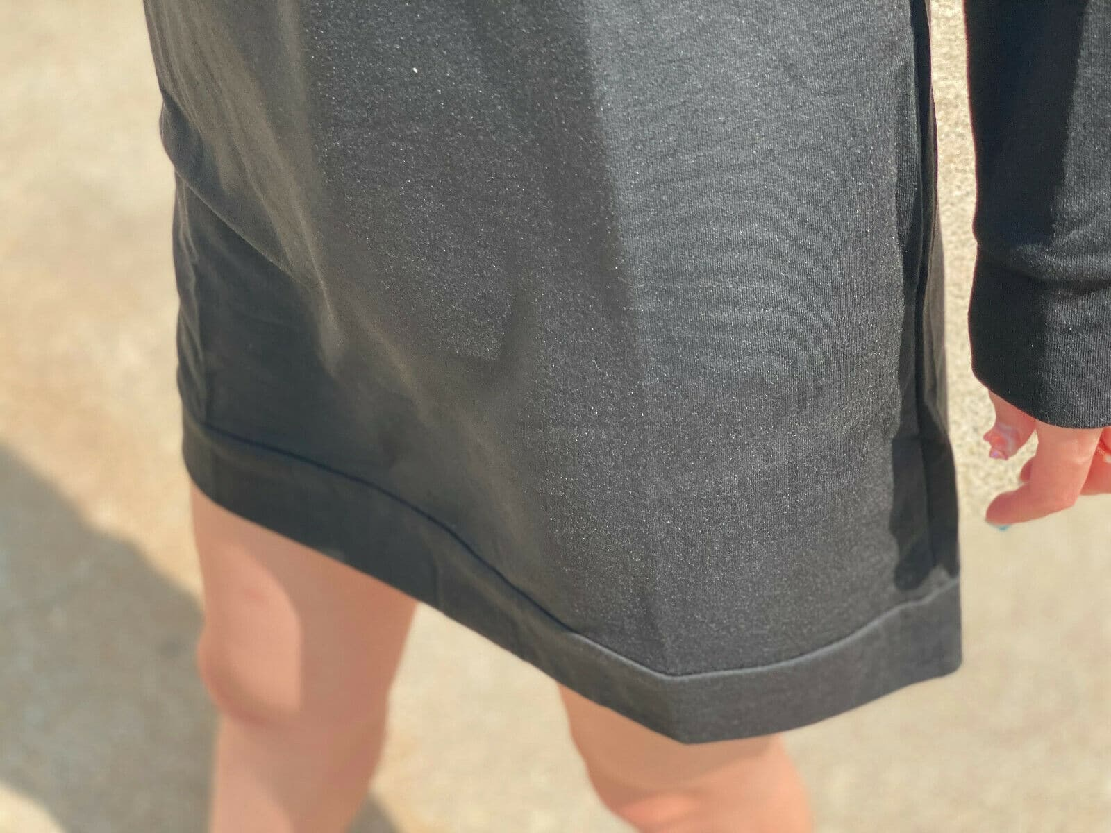 Women Oversize Sweatshirt Mini Dress Sweater Casual Loose Top Baggy Shirt